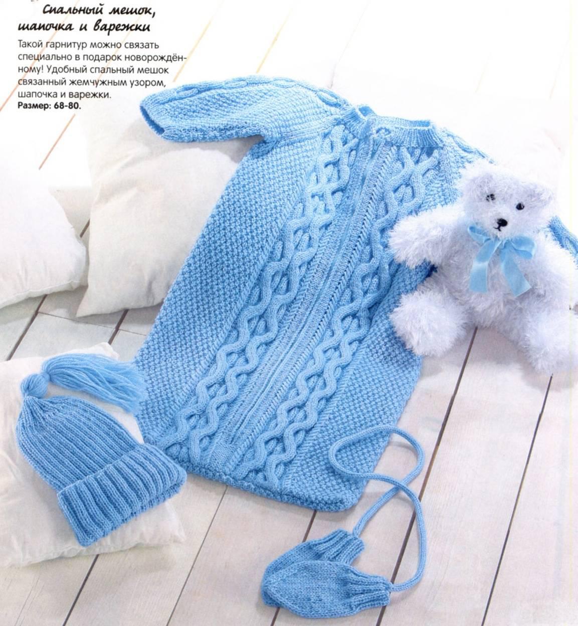 Вязание мочалки для начинающих спицами