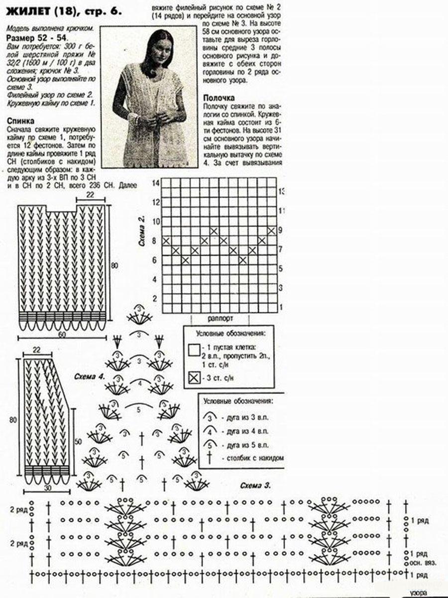Вязание спицами моделей больших размеров схемы модели