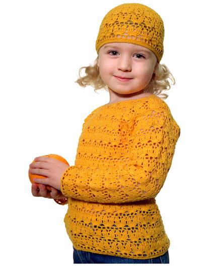 Как связать удобный и теплый комбинезон для ребенка ...