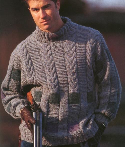 Вяжем свитер новинки