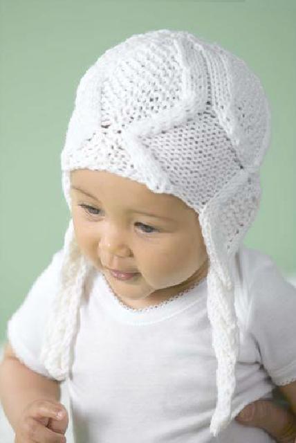 Вязанная детская шапка схема и описание спицами