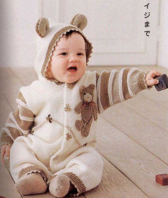 Вязание крючком для девочек - Вязание для детей Вязание детских костюмчиков для девочек крючком