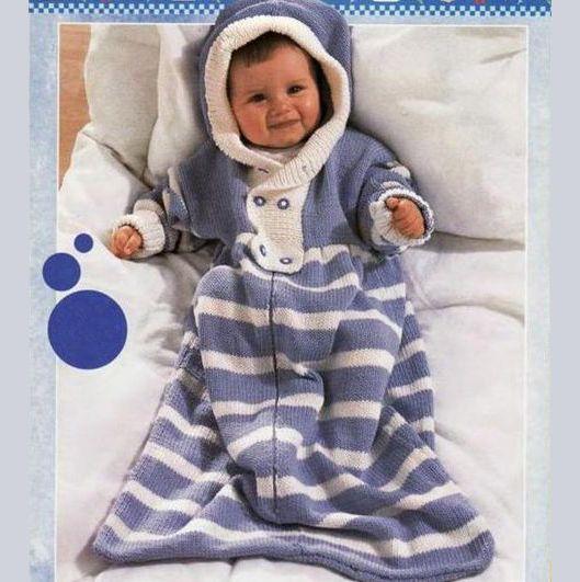 Вязание конвертов для новорожденных - Вязание для